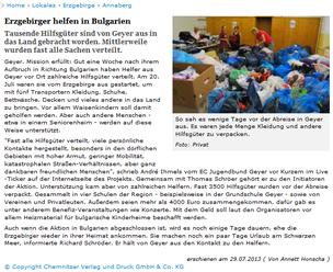 Quellehttp://www.freiepresse.de/LOKALES/ERZGEBIRGE/ANNABERG/Erzgebirger-helfen-in-Bulgarien-artikel8475600.php