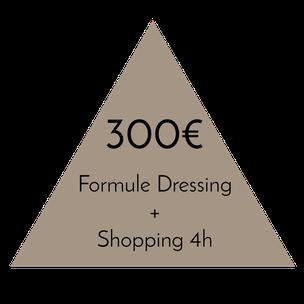 Prix dressing de saison plus de 200 pièces - 6 heures - 350€