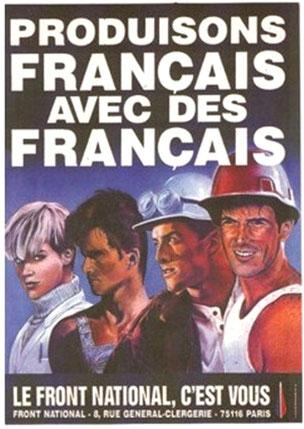 """"""" Lad os producer fransk med franskmænd. Le Front National, det er jer"""""""