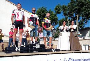 Beau podium avec les Arlésiennes.