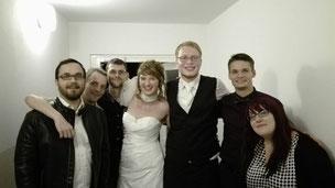 OSTREA & das Brautpaar