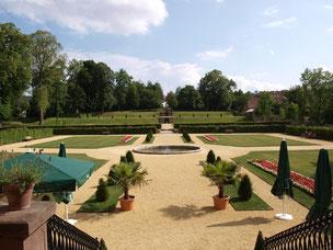 Barockgarten des Schloss Schieder © Stadt Schieder-Schwalenberg