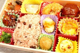 赤飯弁当  1520円(税込)