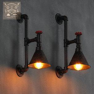 lampade da parete vintage impianto elettrico d'epoca