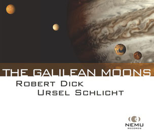 Ursel Schlicht and Robert Dick, CD cover 'The Galilean Moons'