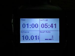 10キロ1時間(^.^)