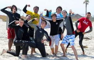 サーフィン 夏休み キャンプ サマー アメリカ