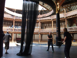 Rehearsals at Shakespeare's Globe