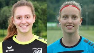 Saskia Deutsch und Mariella Oebbeke vom SV Ottbergen Bruchhausen