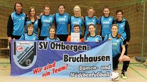 Unsere Damenmannschaft beim SwissLife Select Cup 2017 - SV Ottbergen-Bruchhausen