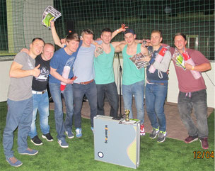 Beer Pong Turnier Siegerehrung