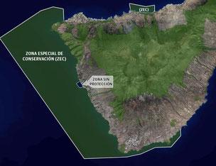 Geschützte Küstengebiete Teneriffa