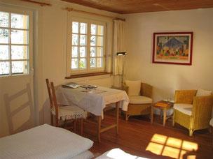 gesunde Bio-Gästezimmer, strahlungsarm ohne WLAN und ohne DECT im Haus