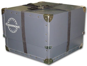 old bernard trunk for vrp or cinema industry representative