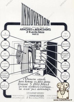 malle ancienne innovation wardrobe