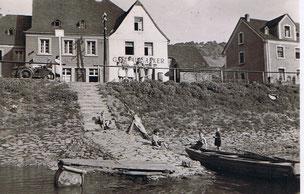 Anlegestelle in Oberfell