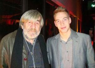 Dimitris Spyrou y Roland Ferge en la Belinale