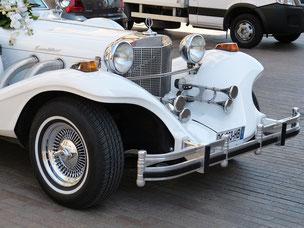 Oldtimer als Hochzeitsauto und Motto