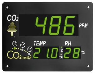 Panel CO2 piscina