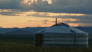 yourte en Mongolie - voyage Mongolie - voyage transsibérien