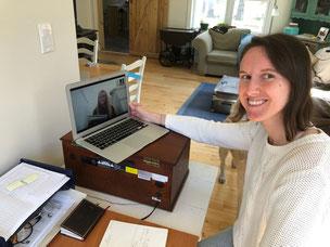 Clea tutoring Kim online