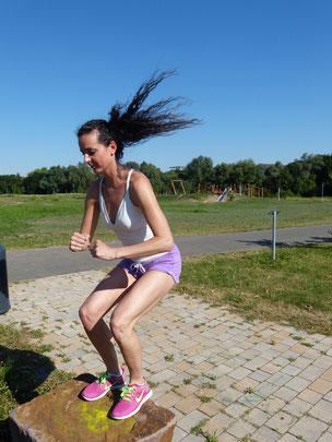 Sprungkrafttraining Rollkunstlauf