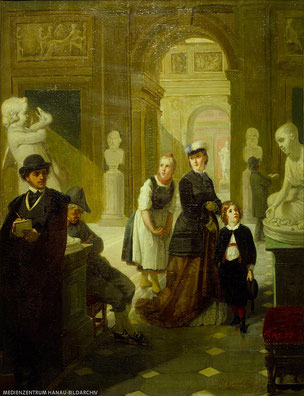 Moritz Daniel Oppenheim, Das Orginal befindet sich im Museum Schloss Philippsruhe in Hanau