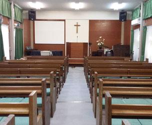額賀さんの通われる教会で