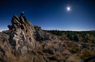 Sternennacht auf der Wolfswarte