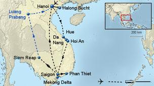 Rundreise Vietnam Kambodscha Weihnachten Silvester 2017 / 2018 mit Flug buchen