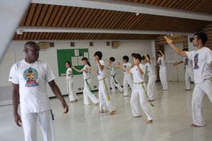 アフロ-ブラジリアン ダンスも教えて貰いました