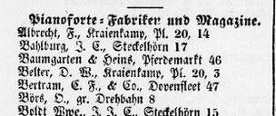 Hamburgisches Adreßbuch für 1859 - Branchenverzeichnis - SUB Hamburg