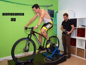 Biomecánico ciclismo
