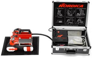Skischuh Anpassung tri-fit customization infrarot Nordica