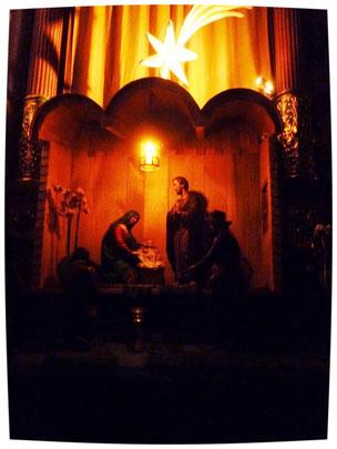 Foto: Krippe im Franziskanerkloster Näfels