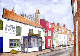 Woodbridge - The Old Mariner - New Street