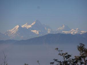 Blick auf Himalaya, Nepal