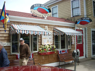 The Red Skiff is one of a Dozen Restaurants in Rockport