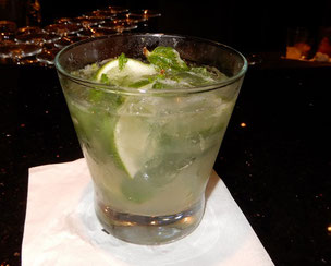 A Classic Mojito Made by our Favorite Bartender on Deck 13