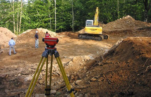 Baustelle - Laserwasserwaage - Holzbausatz, Ausbauhaus, Eigenleistung, Montage, Holzhaus bauen, Wasserwage, Laser Wasserwaage, Richtwaage, Maurerwaage,