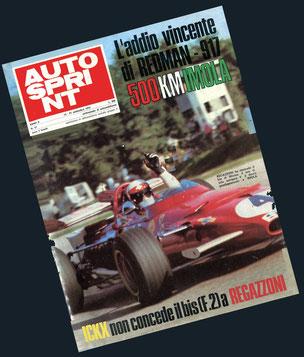 Ickx non concede il bis (F2) a Regazzoni in Autosprint