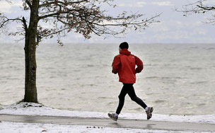 Joggen ist gut für den Body-Mass-Index und demzufolge auch gut für die Versicherungsprämie.