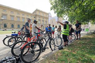 Neu-Münchner entdecken radelnd die Stadt (Foto: Radlhauptstadt München / Su Gin Ong)