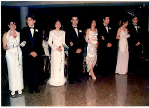 debutantes and their partners