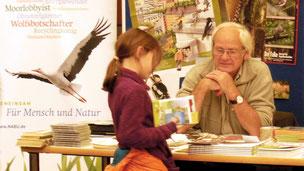 Dr. Klaus Ruge beim Literaturfest Ludwigburg im Jahr 2015