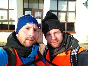 Bernd Pfeiffer und Bruder