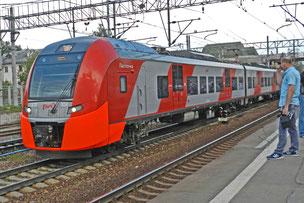 Lastotschka Triebwagen Desiro Russland