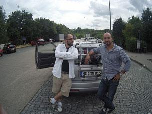 Roadtrip Kumpel Freunde zu zweit Auto