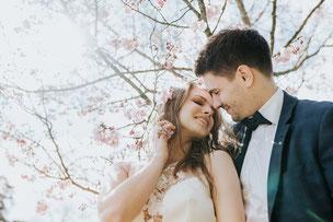 свадьба в Париже весной