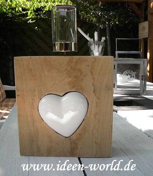 Deko aus Holz Ideen World Unikate